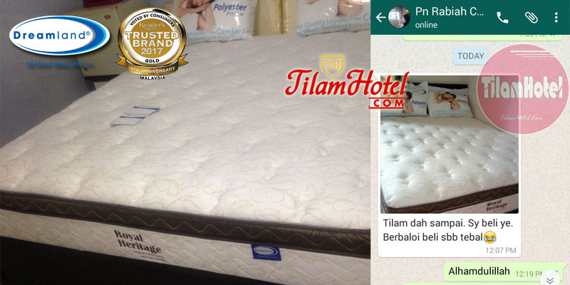 Tilam Royal Heritage Simple Review